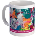 Energy Healing Art Elixir Mugs